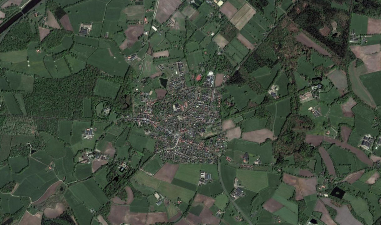 Luchtfoto Diepenheim