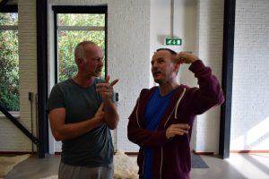 Jaap Slagman en Danny Molenaar - Repetitie Broos